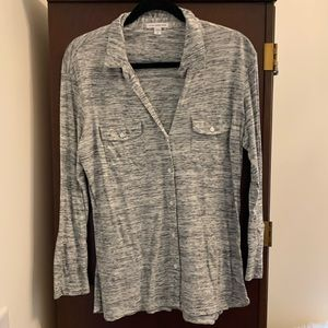 BARELY WORN James Perse Relaxed Top
